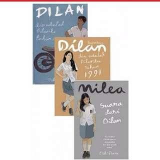Ebook DILAN 1, DILAN 2, MILEA