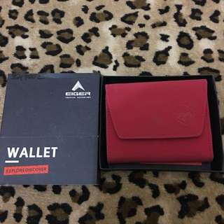 Eiger Wallet Women Series (Red)