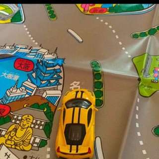 Tomica 小車專用地圖
