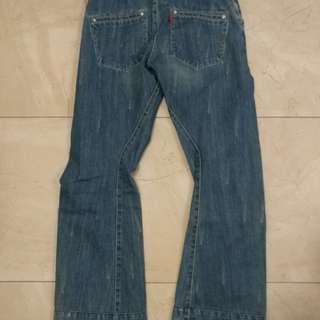 Levis 3D 牛仔褲