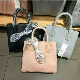 Miniso tote bag and sling bag