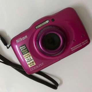Coolpix S32 Waterproof Camera