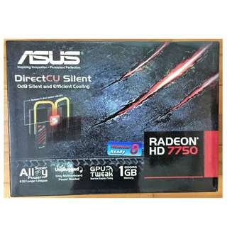 Asus Silent Radeon HD7750 (1 GB RAM) PCIe 3.0 Graphics Card (Brand New)