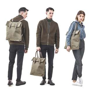 QWSTION DAY TOTE (OLIVE) NEW