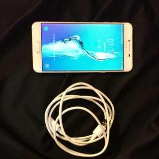 Samsung c7 64g 95%new 粉金 已過保用