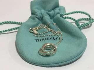 Tiffany 1837 Interlocking Circles necklace