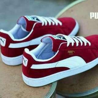 sepatu sneaker puma suede import