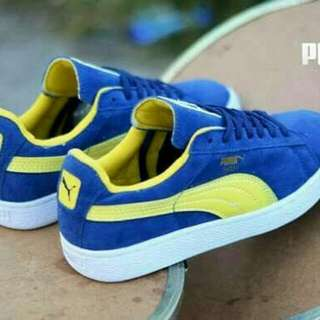 sepatu sneakers puma suede import