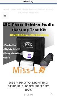 🌹 DEEP PHOTO LIGHTING STUDIO SHOOTING TENT BOX