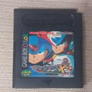 Rockman X2 GBC 洛克人X2 game boy版