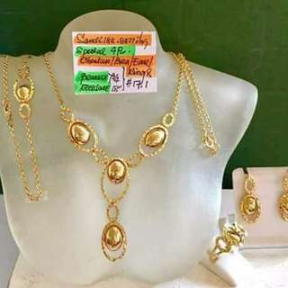 Authentic Gold ( sold as set)