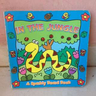 Sparkly Board book - In The Jungle
