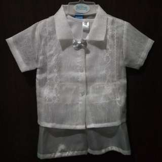 Baptismal Wear Set for baby boy