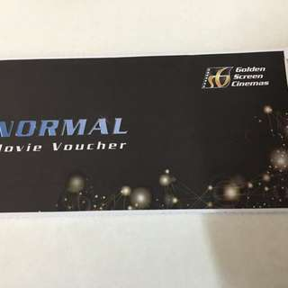 Gsc Normal Movie Tickets