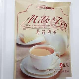 ✈大玩台灣代購✈超人氣團購飲品-基諾奶茶隨身包試飲10包入