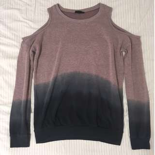 Topshop Gradient Ombre Sweater 毛衣