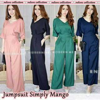 JUMPSUIT SIMPLY MANGO