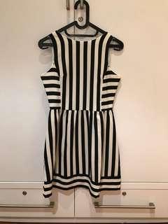Cloth Inc Striped Dress (Size S)