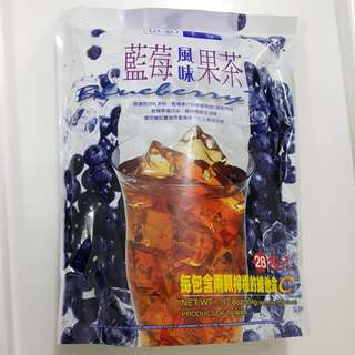 ✈大玩台灣代購✈基諾藍莓風味果茶隨身包試飲10入