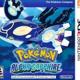 Pokémon - Alpha sapphire 3DS