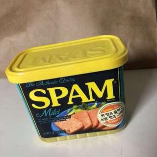 韓國SPAM低鹽午餐肉