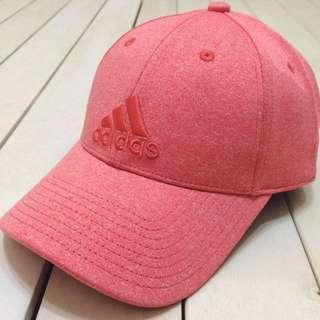 國外帶回 正品 Adidas 老帽 運動帽 刺繡 可調式 粉色