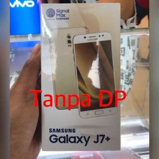 Samsung j7 plu kredit awan tunai /aeon