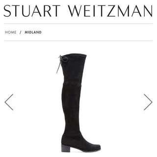 Stuart Weitzman SW Midland boots 過膝靴 36.5碼
