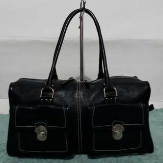 Authentic Agnis B Leather Bag