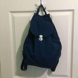 Navy Baggu Backpack