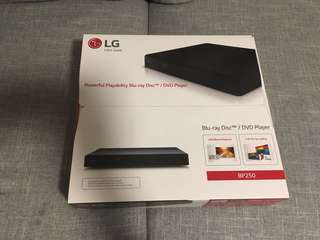 100%new LG藍光/DVD機(LG blue ray disc/DVD player)