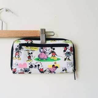 Disney Mickey and Minnie Wallet