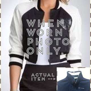 Bossini Cropped Varsity Jacket
