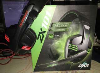 Zeus ZX 101 Professional Over-the-Ear Gaming Headphones