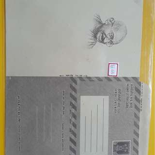 GANDHI CENTENARY - INLAND LETTER CARD - 1969 - india Stationery - Unused - Condition as shown - RARE - fd66