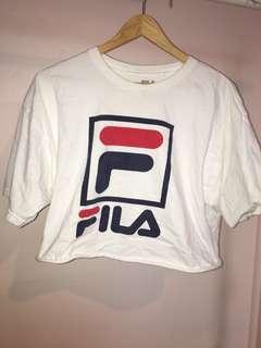 Fila Cropped Shirt