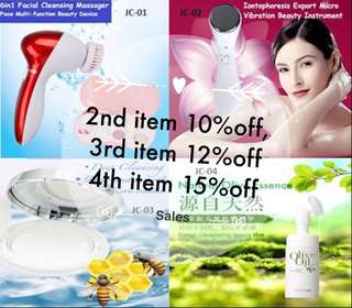 6in1 brush massager, face Lifting tools, travel paper cleanser, 3in1 makeup remover