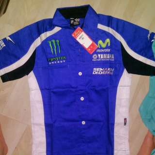 Yamaha factory racing team shirt