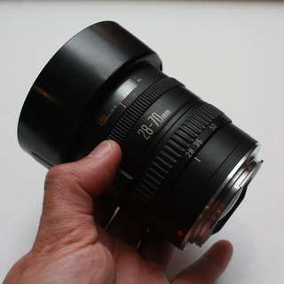 Canon EF 28-70mm f3.5-4.5II for Full frame and crop