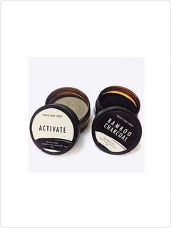 Activate and Bamboo Charcoal Facial Mask