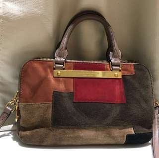 Marc by Marc Jacobs Bag / 拼色絨布