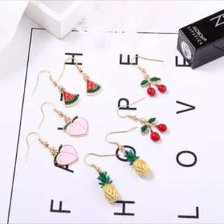 [PO] Creative Fruit Earrings