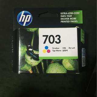 HP 703 Coloured Ink