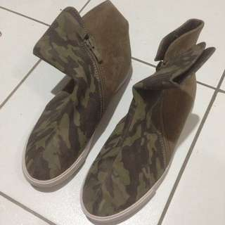 Camouflage Boots Shoes