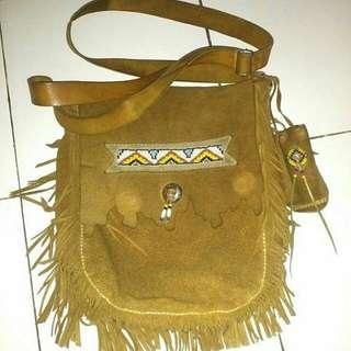 Tas indian kulit