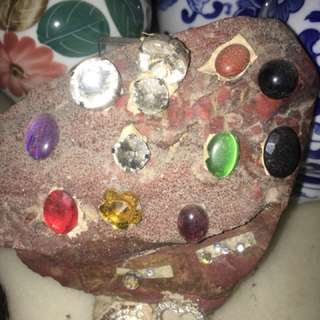 Display n special authentic stone