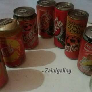 Cocacola mix drinks can