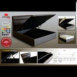 Queen Storage Bed Warehouse Sale