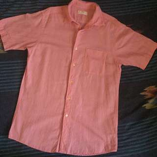 Uniqlo Linen Short Sleeve Shirt