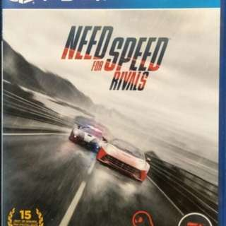 PS4 Need For Speed Rivals PS4